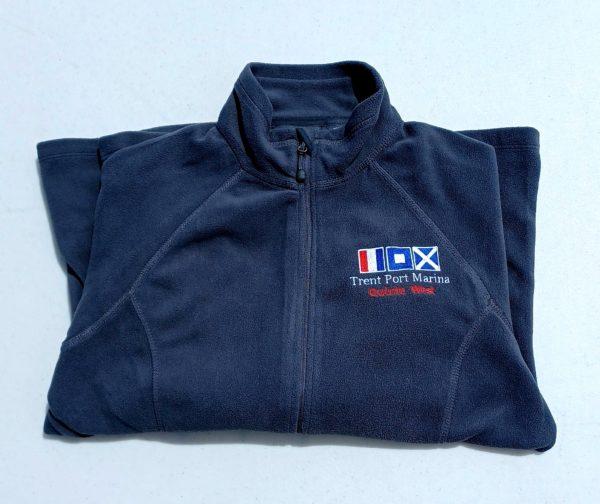 Navy Blue Fleece Jacket