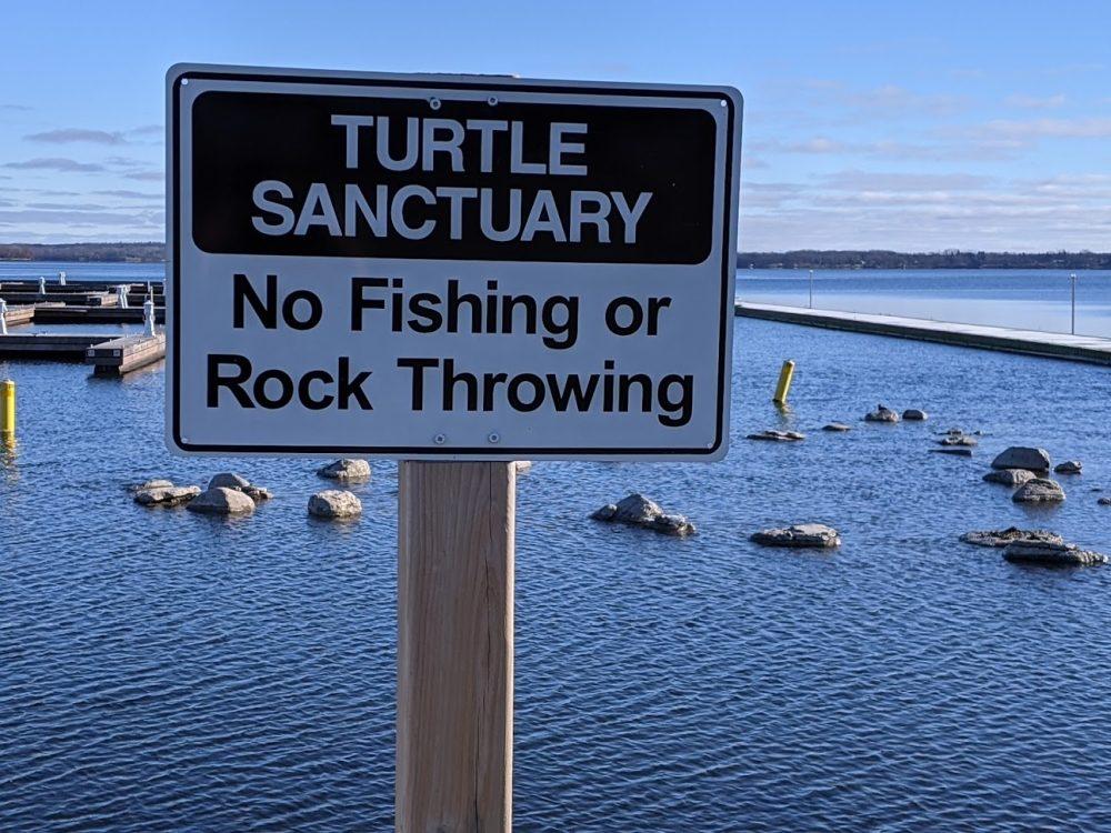 Turtle Sanctuary Sign (1)